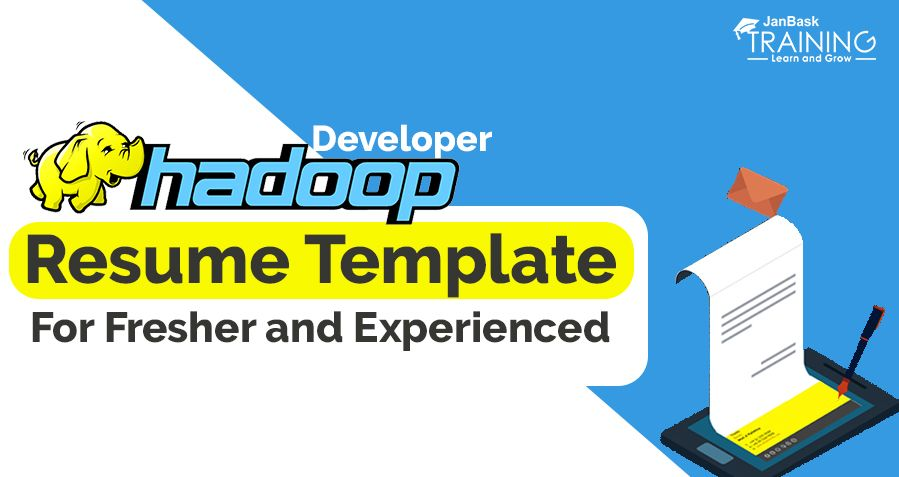 A Huge Data Amount Is Floating All Over The Internet And Therefore Big Data Analytics And Hadoop Ha Resume Template Resume Template Examples Big Data Analytics