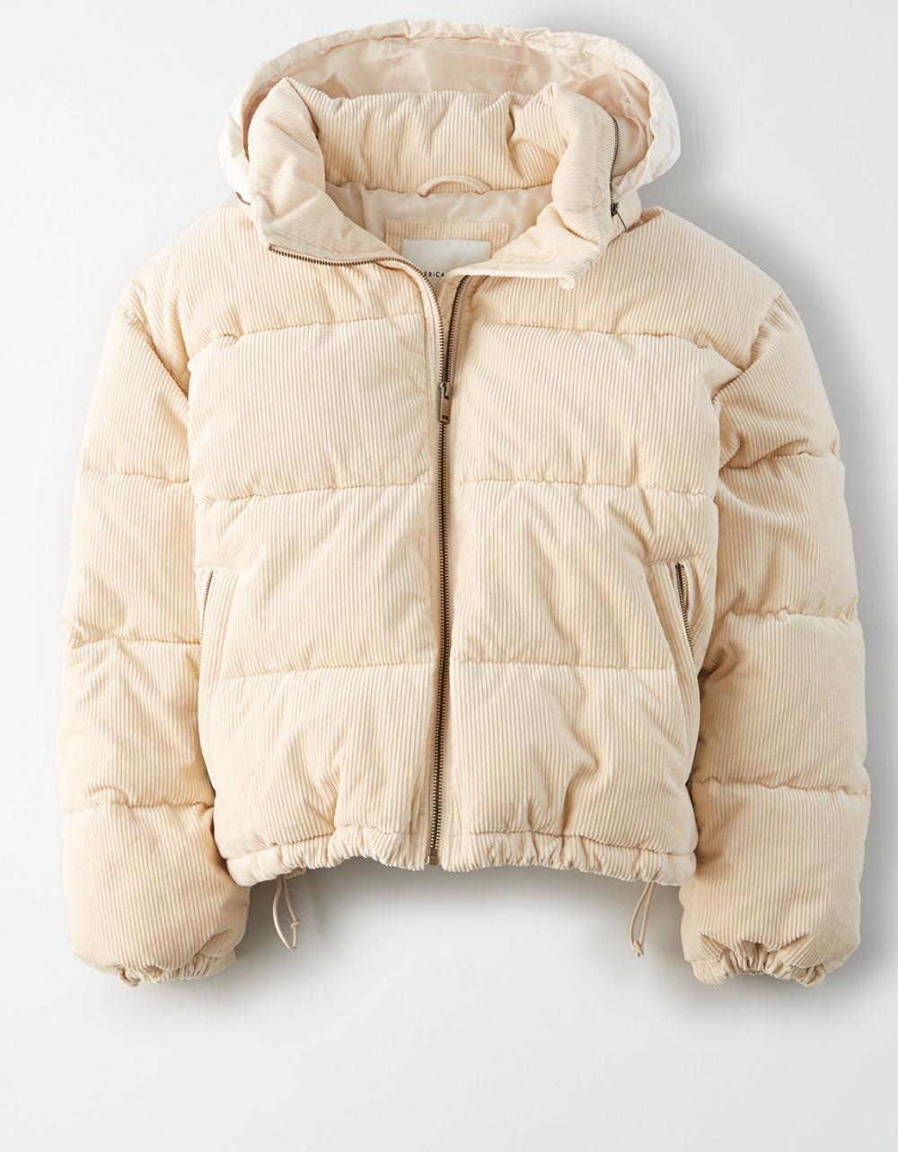 Aeo Corduroy Puffer Jacket Winter Jacket Outfits Puffer Jacket Outfit Tween Outfits [ 1282 x 1000 Pixel ]
