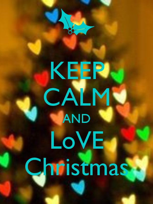 keep calm and love christmas true pinterest gute. Black Bedroom Furniture Sets. Home Design Ideas
