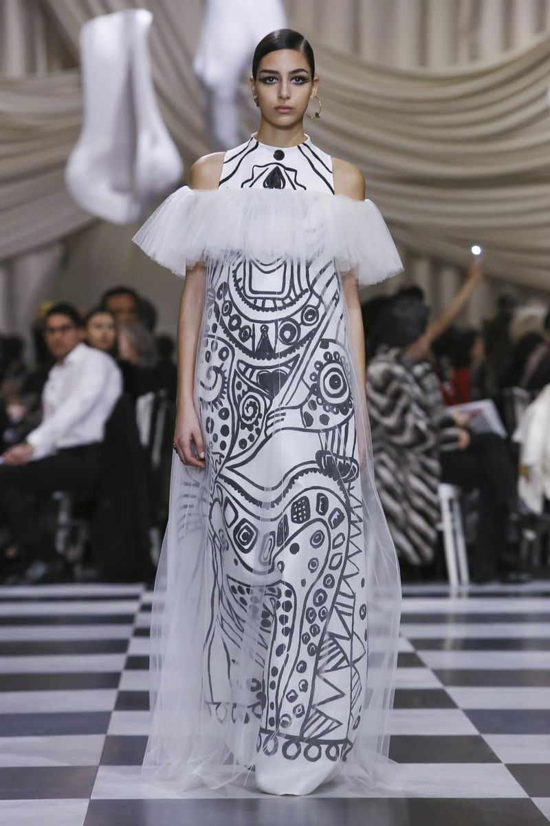 Connu Dior Couture Spring Summer 2018 Paris | Couture Spring 2018  QH56