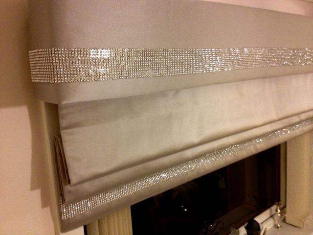 Glitter Bedroom Blinds