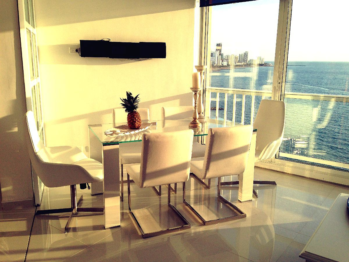 Amazing View Flat At The Beach Cartagena Colombia Decoraci N  # Muebles Rivelli