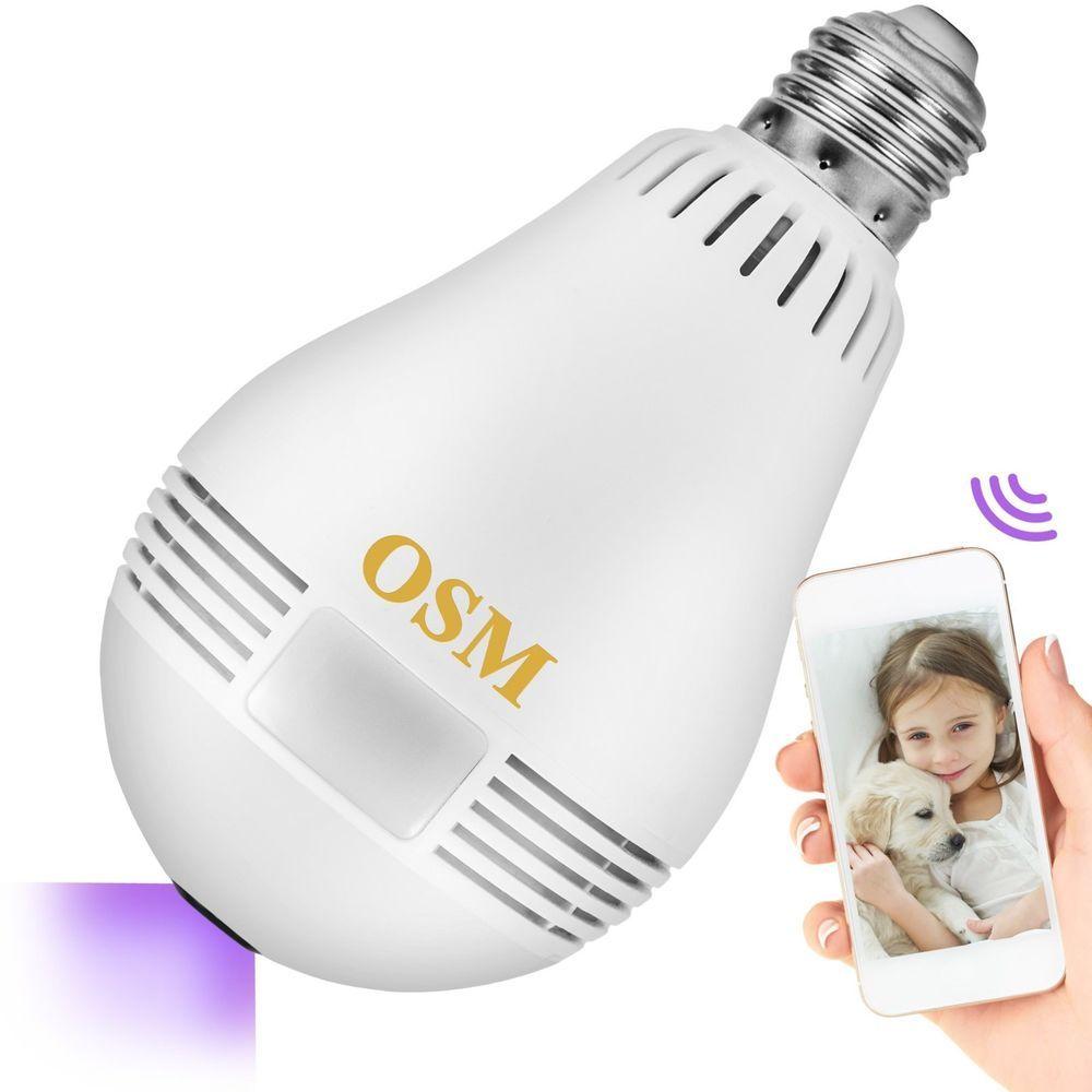 Home Security Hidden Camera 360 Led Smart Light Bulb Wifi