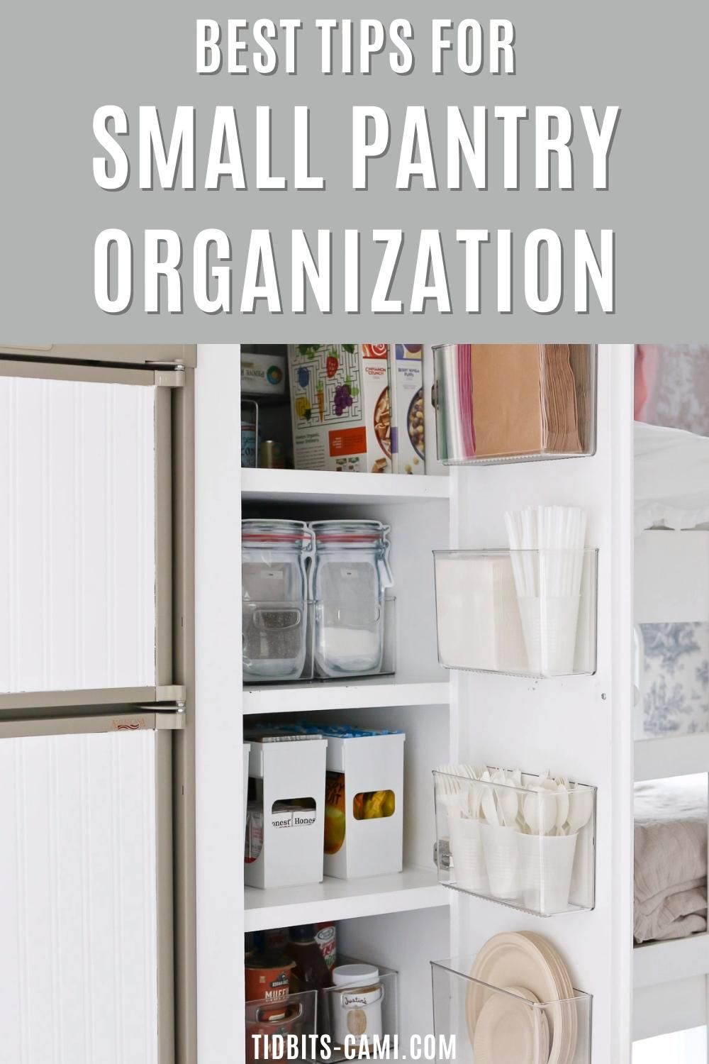 Photo of Small Pantry Organization Ideas