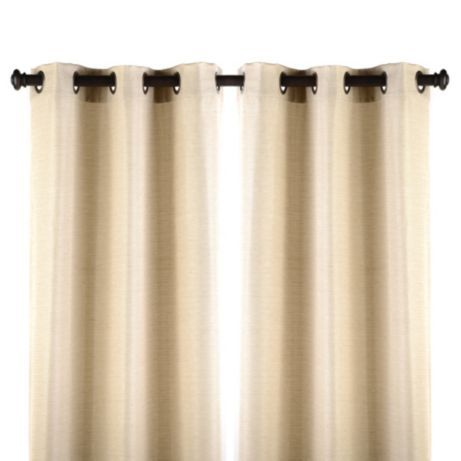 Taupe Curtain Panel Set 84 In Curtains Panel Curtains Silk