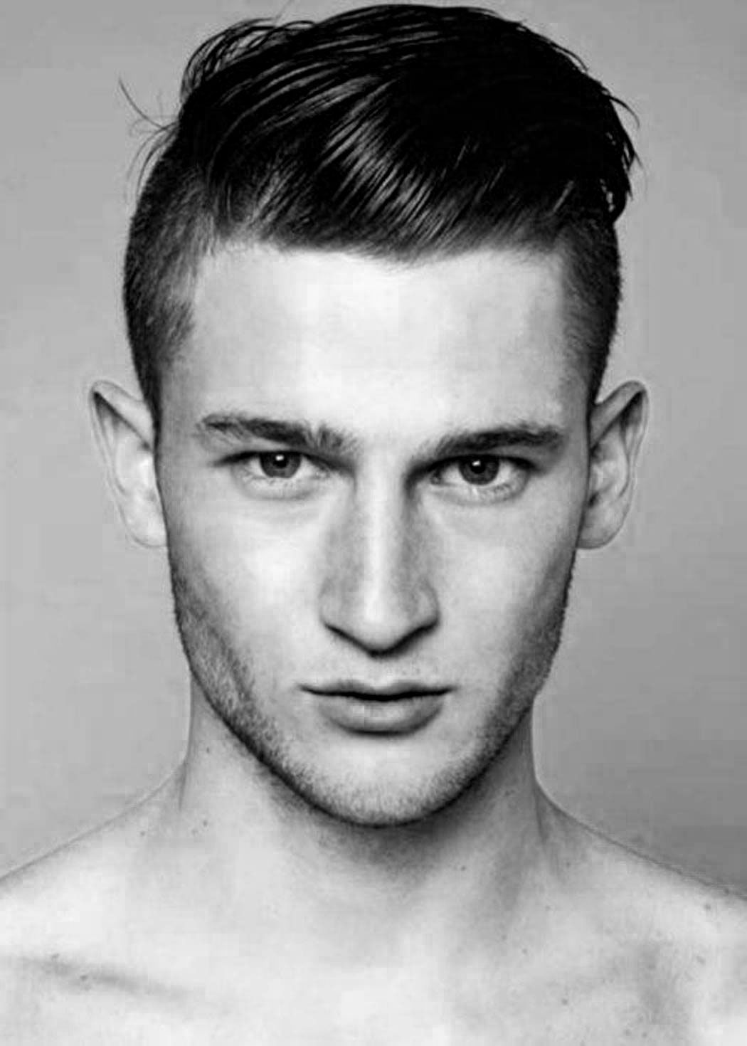 Image For Model Rambut Slicked Back Undercut Mst0146 Men