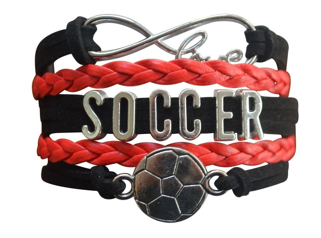 Girls soccer infinity bracelet girls soccer and products