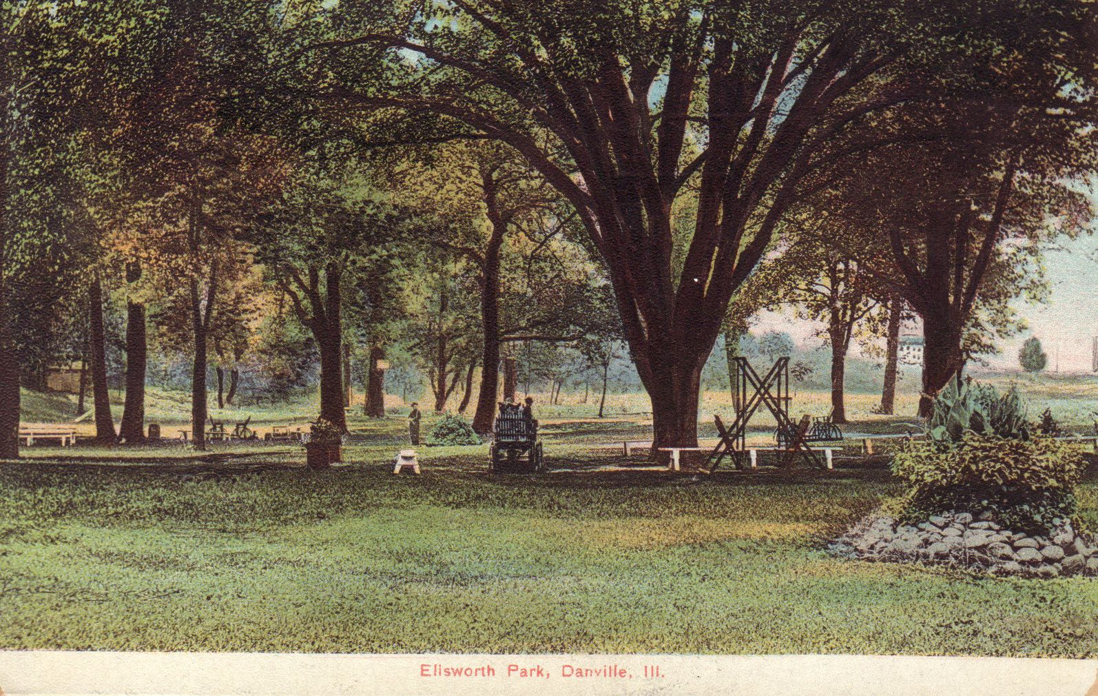 Ellsworth Park, Danville, Ill.   Danville, IL Postcards   Pinterest ...