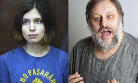 Amazing exchanges between Pussy Riot's Nadezhda Tolokonnikova and philosopher Slavoj Zizek --The Guardian