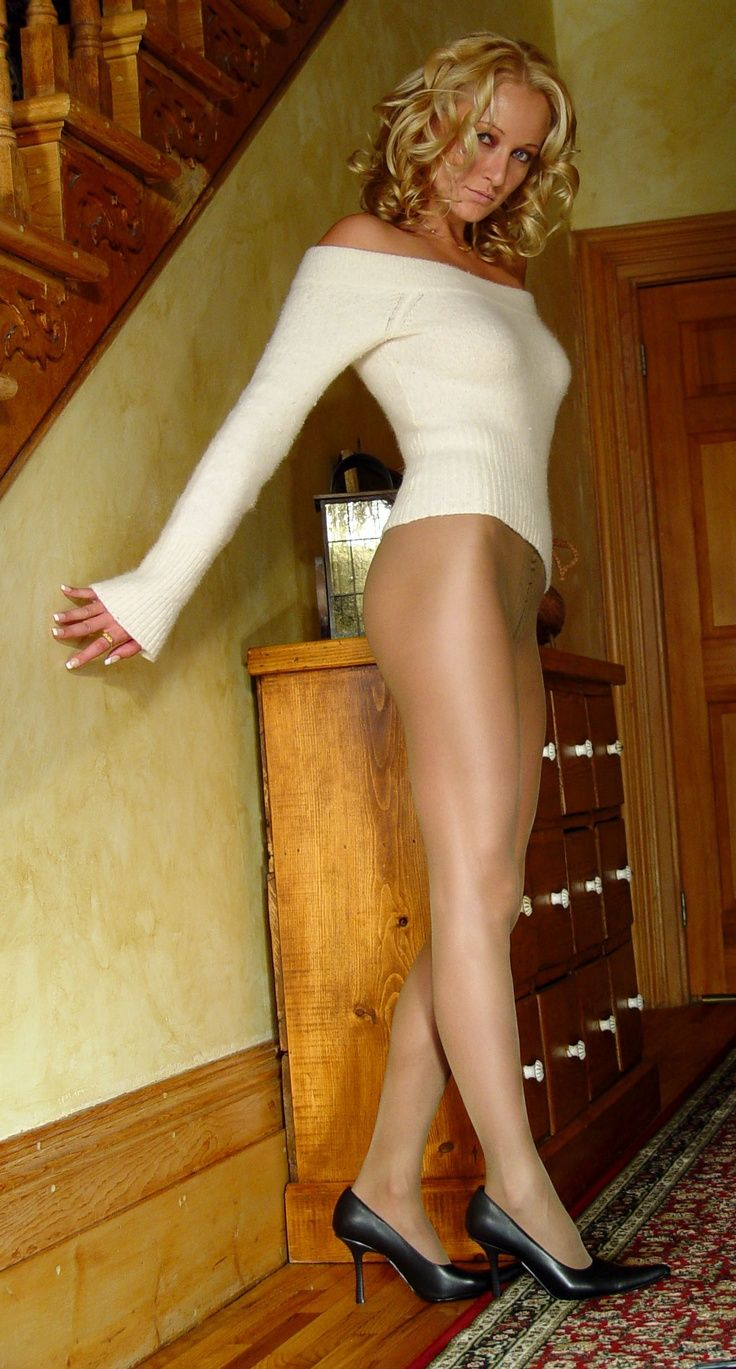 Mature Women In Heels And Pantyhose