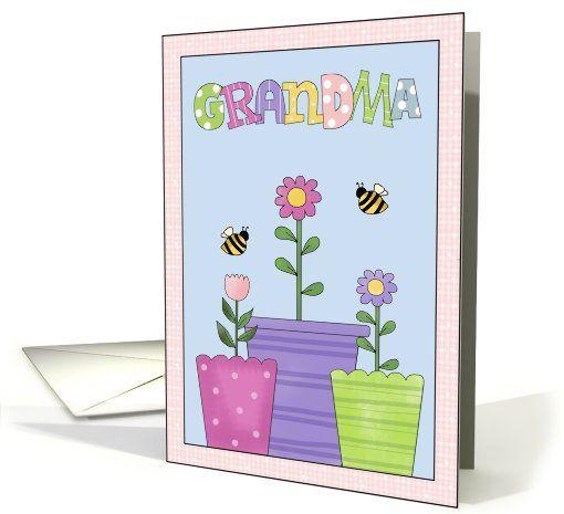 Mothers Day-Grandma card by Cheryl Seslar Designs
