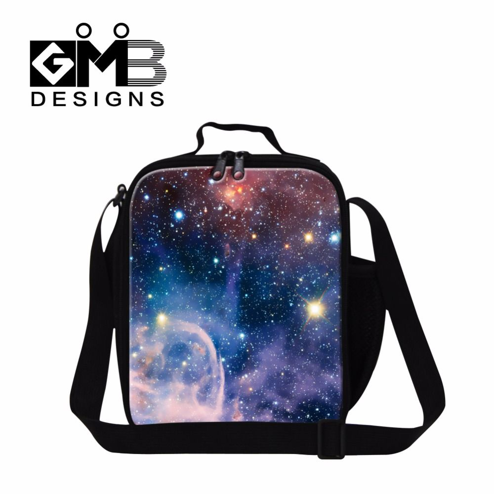 Personalized Lunch Cooler Bags Sky Printing Insulated Lunch Box ...