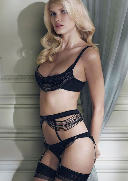 b77e03600d Agent Provocateur Lidija Lingerie Made in super-smooth black silk satin.  The barely-there proportions of these subtly revealing pieces are bedecked  with ...