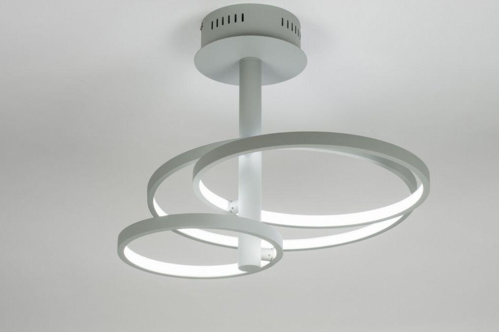 Artikel 89366 design plafondlamp voorzien van led for Design plafondlamp