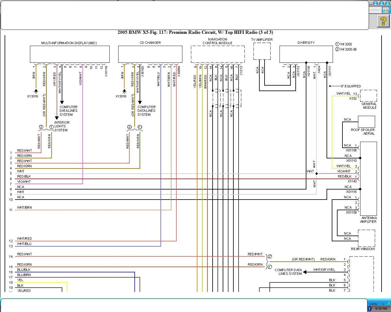 Bmw X5 Wiring Diagram  1