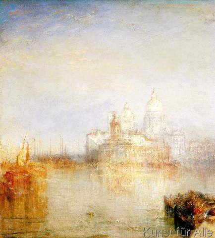 Joseph Mallord William Turner - The Dogana and Santa Maria della Salute, Venice, 1843