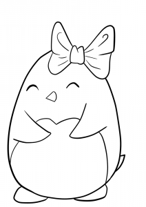 Opal Manor Penguin02 Cute Coloring Pages Penguin Coloring Pages Baby Coloring Pages