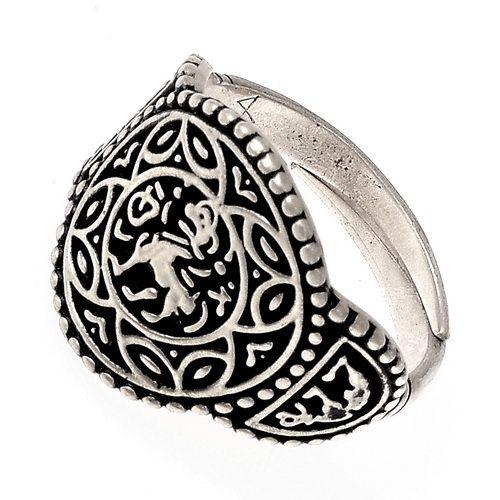 Ring Æthelswith - versilbert