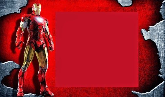 Iron Man Birthday Party Invitations Labels And Free Printables