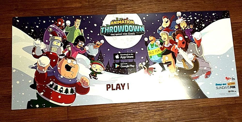 ANIMATION THROWDOWN THE QUEST FOR CARDS FAMILY GUY