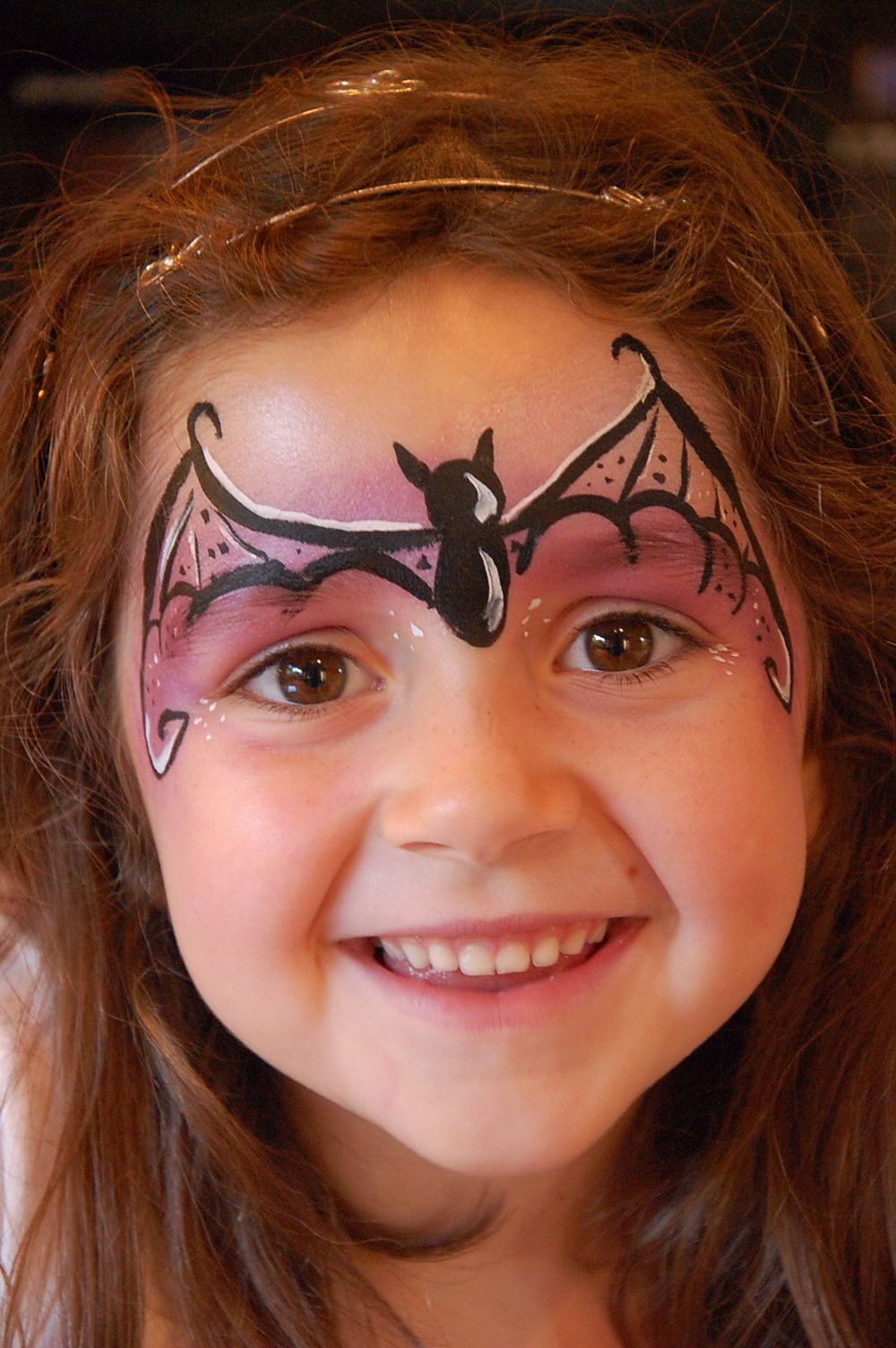 Bat Girl Face Paint Mit Bildern Kinder Schminken Halloween