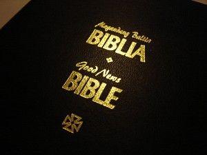 Luxury Tagalog English Leather Bound Bible Magandang Balita Biblia Good News Good News Bible Life Application Study Bible What Is Bible