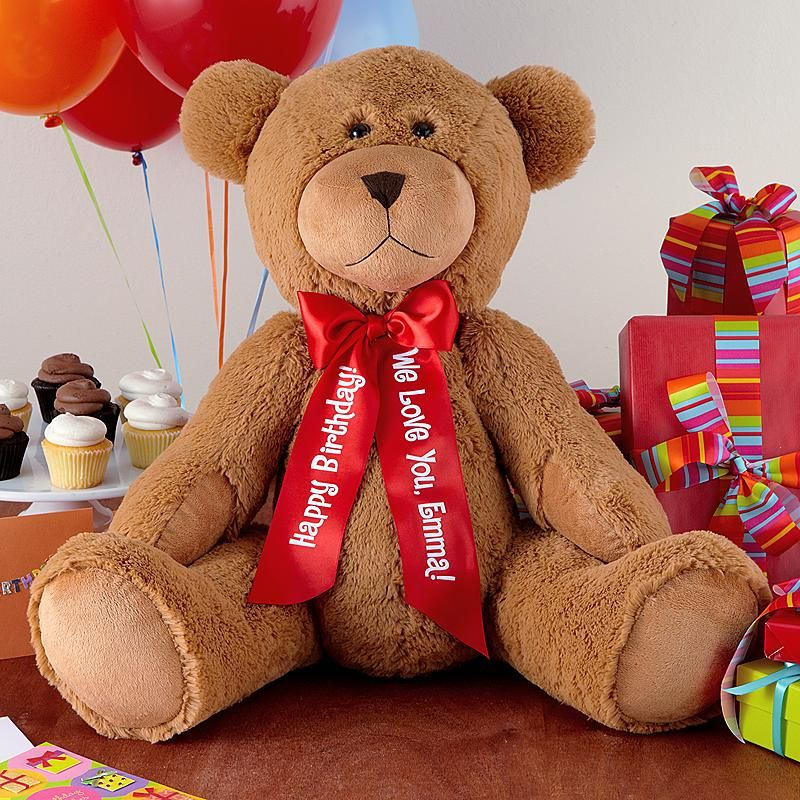 27 plush teddy bear personalized valentines day gifts