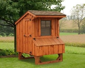4' x 4' Chicken Coop Quaker Style - North Country Sheds ...