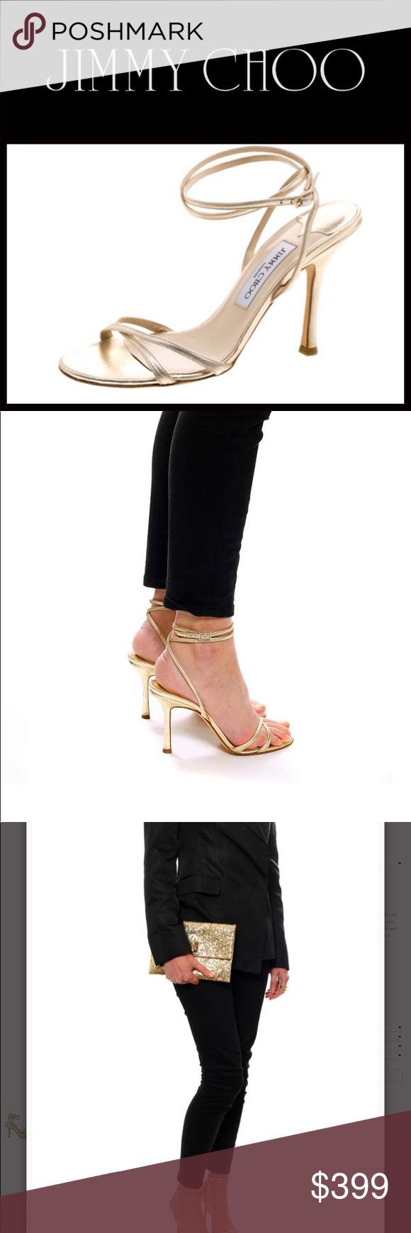 Jimmy Choo Juliet Gold Strappy Sandal Gold Strappy Sandals Strappy Sandals Jimmy Choo