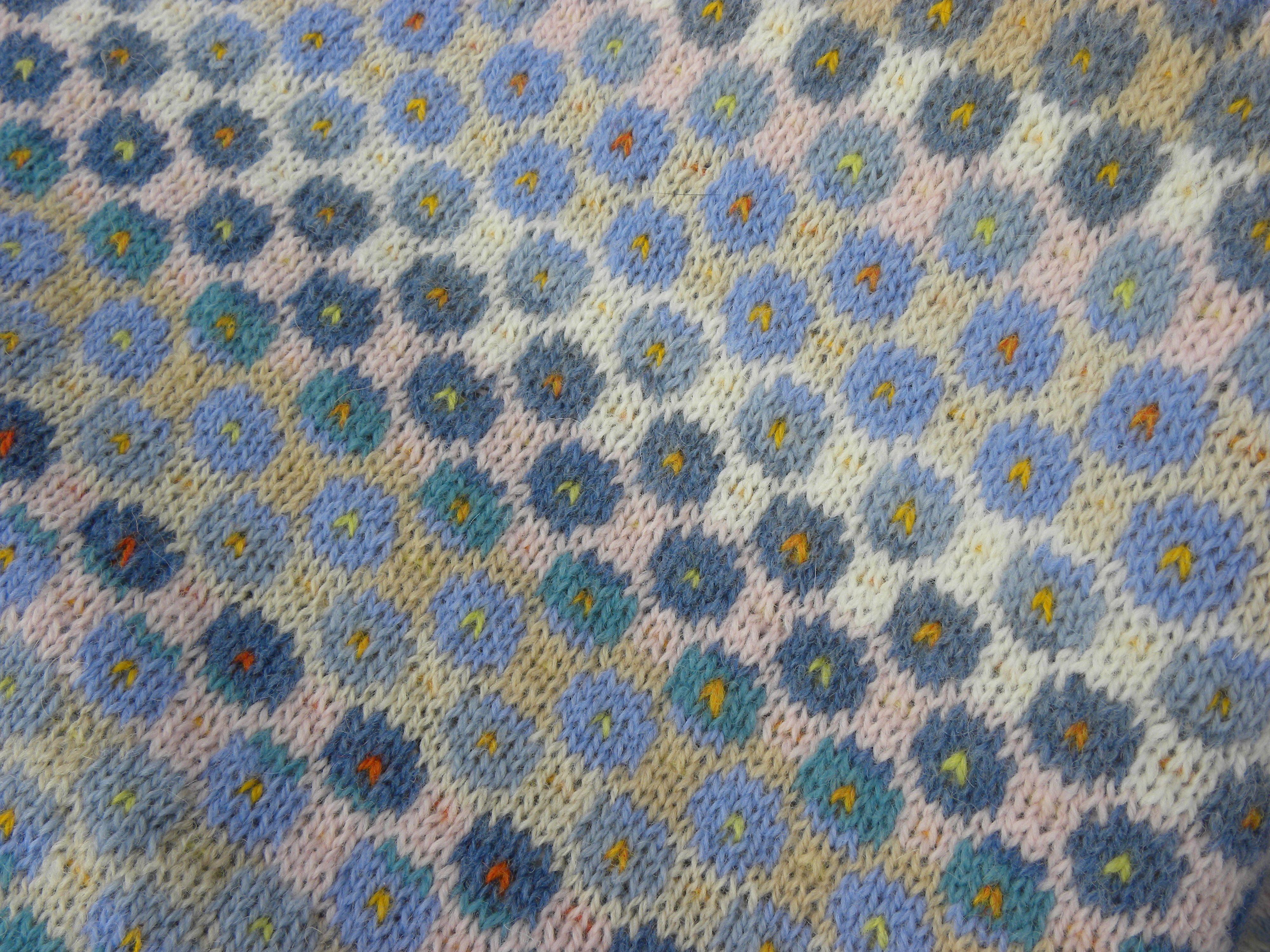 strikket mønster
