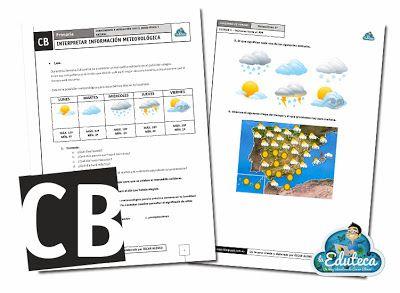TRABAJANDO LAS COMPETENCIAS   Interpretar información meteorológica