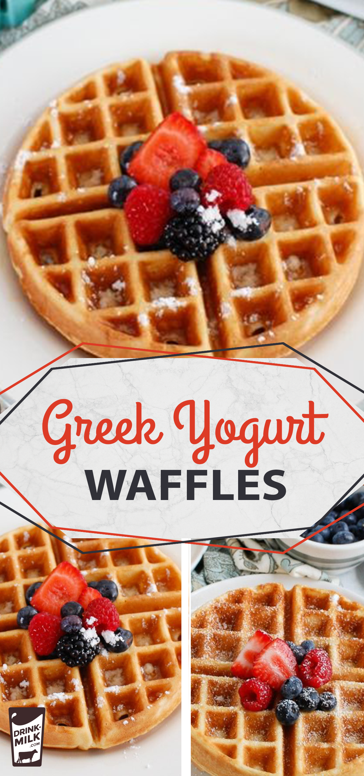 Greek Yogurt Waffles -   14 healthy recipes Protein greek yogurt ideas