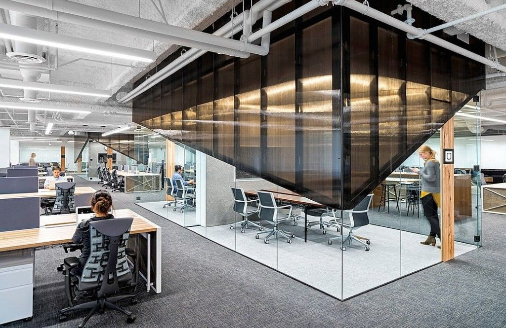 Uber culture wall and partition design bureau