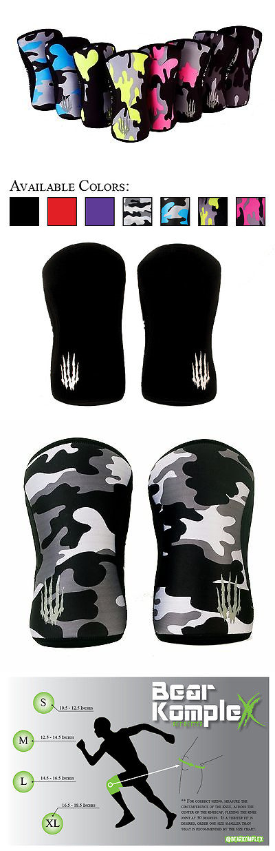 Wrist and Knee Wraps 179821: Bear Komplex Knee Sleeves Great For Cross Training And Weightlifting. Pair Of 2 -> BUY IT NOW ONLY: $49.98 on eBay!
