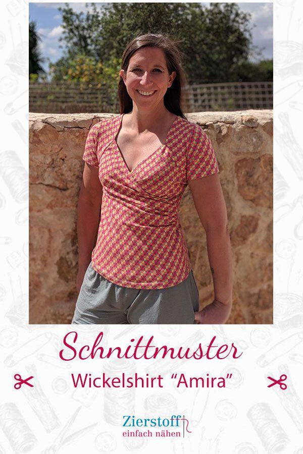 Schnittmuster und Anleitung Shirt Amira