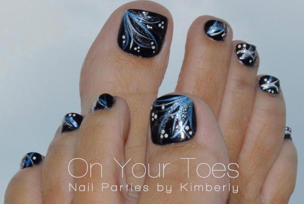 toenail art by kimberly lebeau pedicure designs toenails