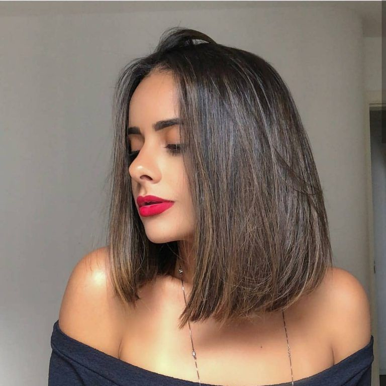 34++ Short shoulder length straight hairstyles ideas in 2021