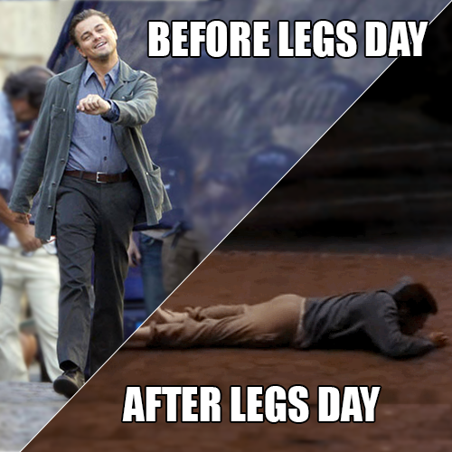 50 Hilarious After Leg Day Meme Sayingimages Com Leg Day Humor Leg Day Memes Legs Day