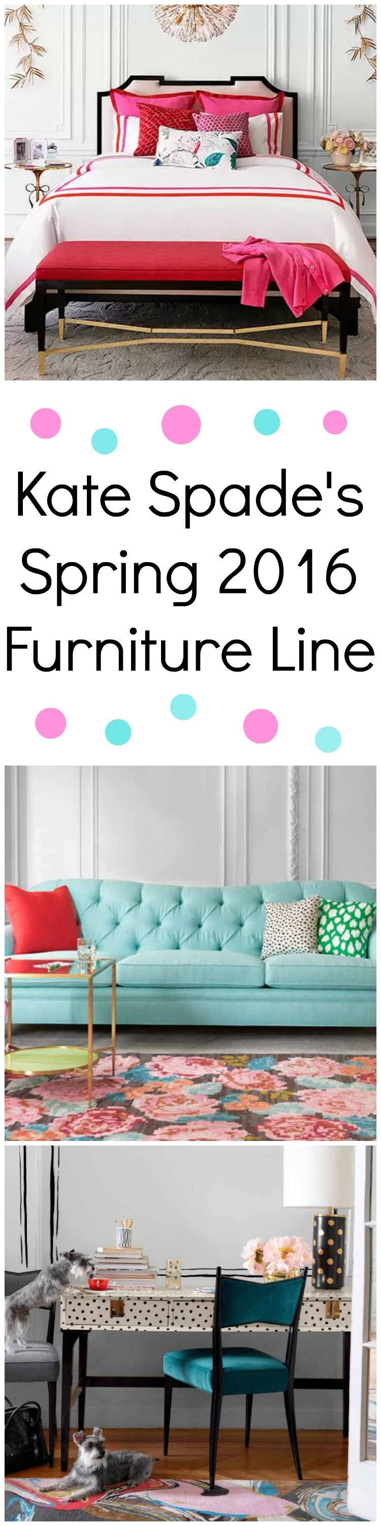Kate Spade Just Launched the Most Playful Furniture Line | Happy ...