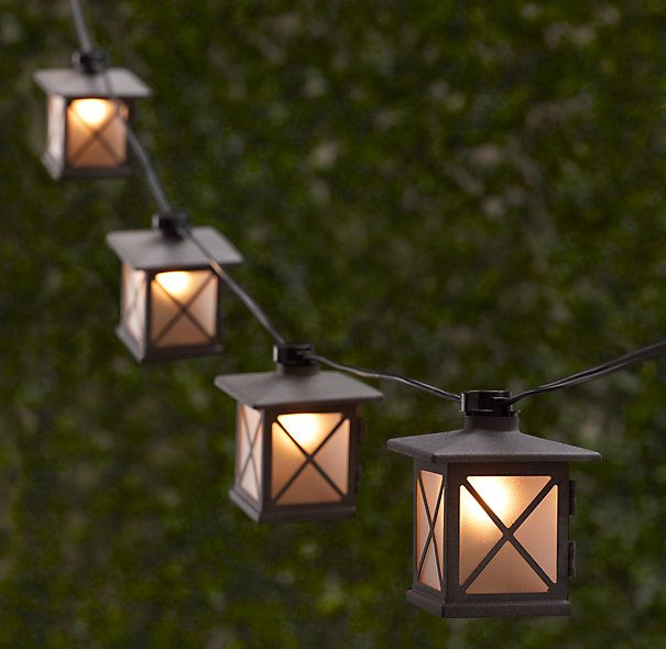 Avignon light string 75 miniature versions of lights seen in avignon light string workwithnaturefo
