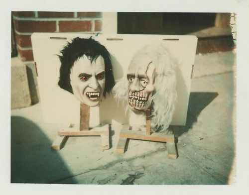 You say Christopher Lee, I say Dracula and Ghoul Mask ...