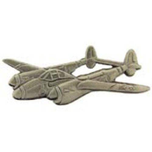 "P-38 Lightning Airplane Pin Pewter 1 1/2"" by FindingKing. $8.99. This is a new P-38 Lightning Airplane Pin Pewter 1 1/2"""