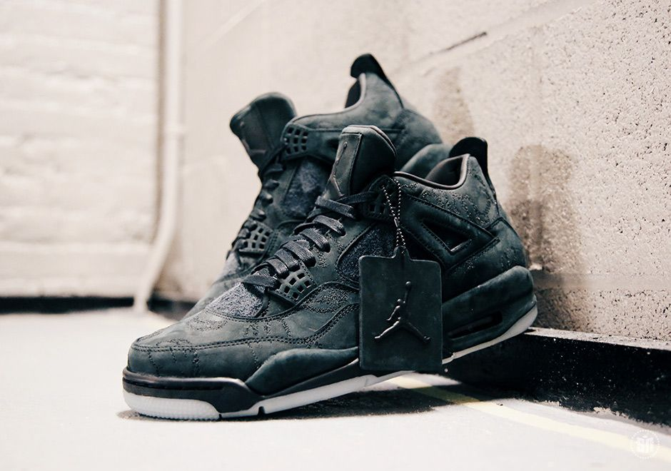 #sneakers #news The Black KAWS x Air Jordan 4 Will Be Exclusive To KAWS