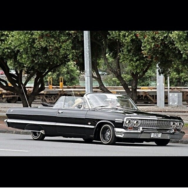 Low Lows In New Zealand Classic Cars Chevy Lowrider Cars 63 Chevy Impala