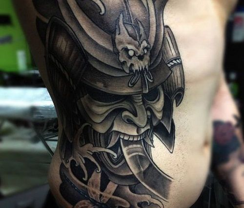 150 Samurai Tattoos Meanings Ultimate Guide July 2019 Tattoo