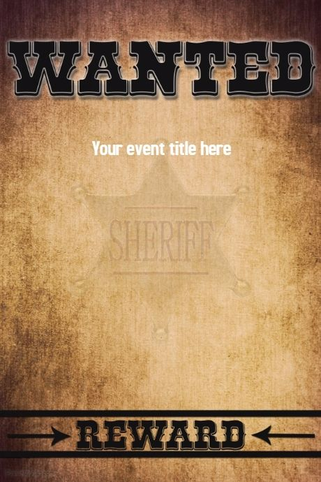 Create amazing party flyers by customizing our easy to use - create a wanted poster free