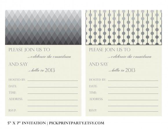 freenewyearsevepartyinvitations Printables – Free Printable New Years Eve Party Invitations