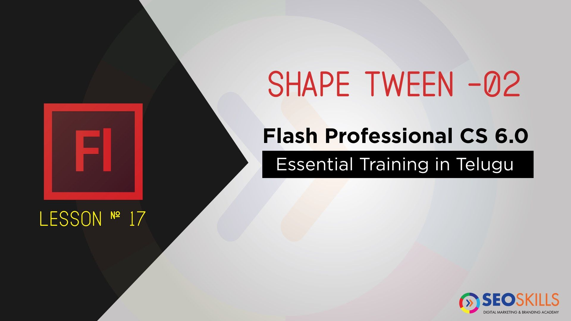 Shape tween for text adobe flash cs6 tutorial in telugu free web shape tween for text adobe flash cs6 tutorial in telugu baditri Gallery
