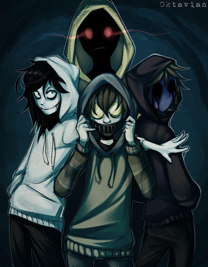 ○○○ |Creepypasta| Hoodie Squad |+SPEEDPAINT| by 0ktavian