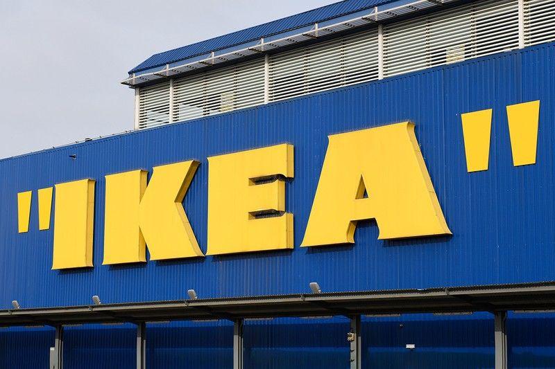Ikea Celebrates Virgil Abloh S Markerad Collection With Quotation Marks Around Logo Ikea Logo Ikea Quotation Marks